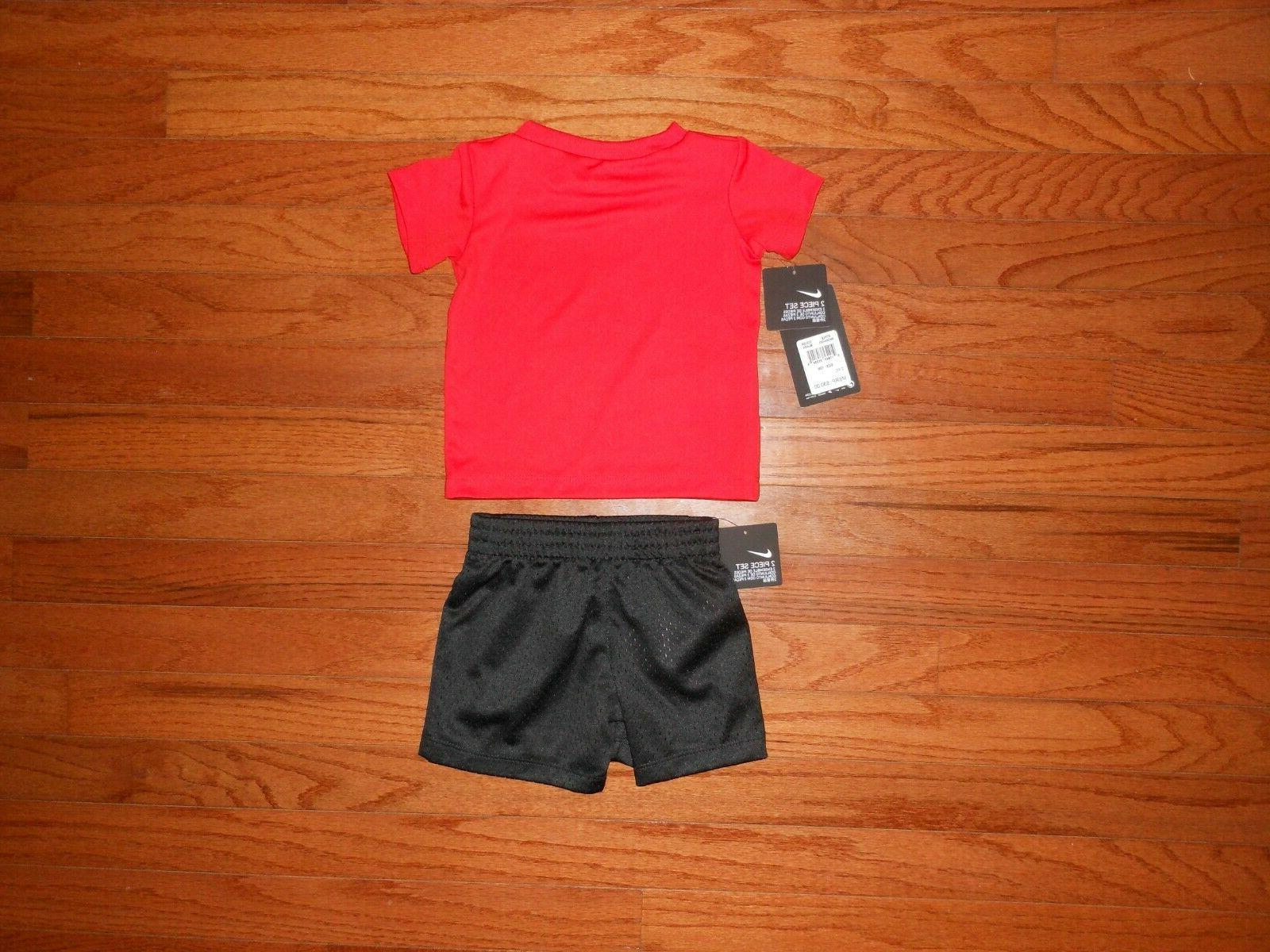 NWT Nike Baby 2pc r/b short outfit size 12M