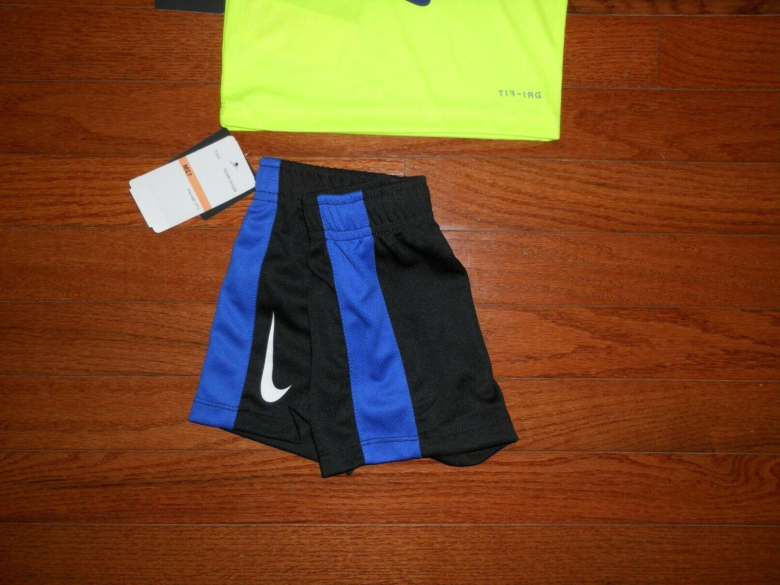 NWT Boys 2pc volt and black size 12M