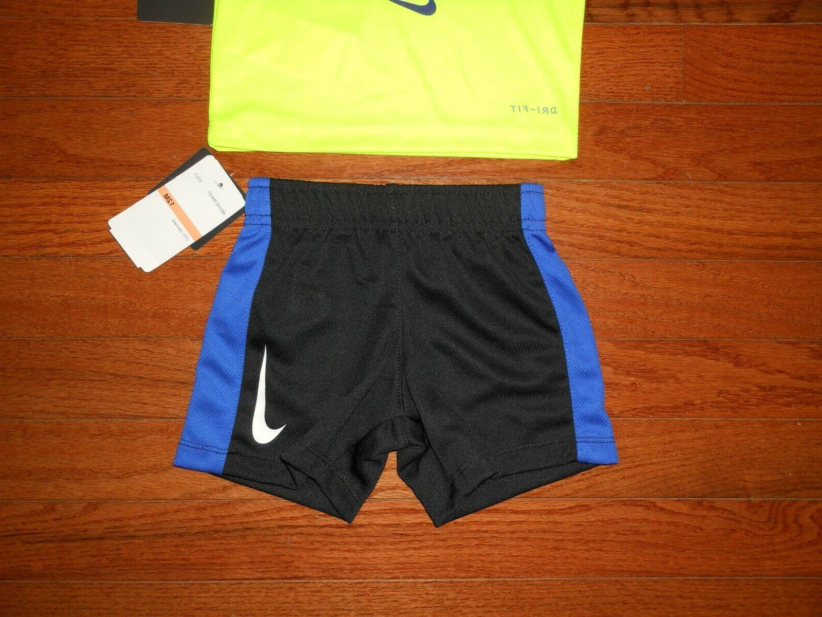 NWT Baby 2pc volt black short size 12M