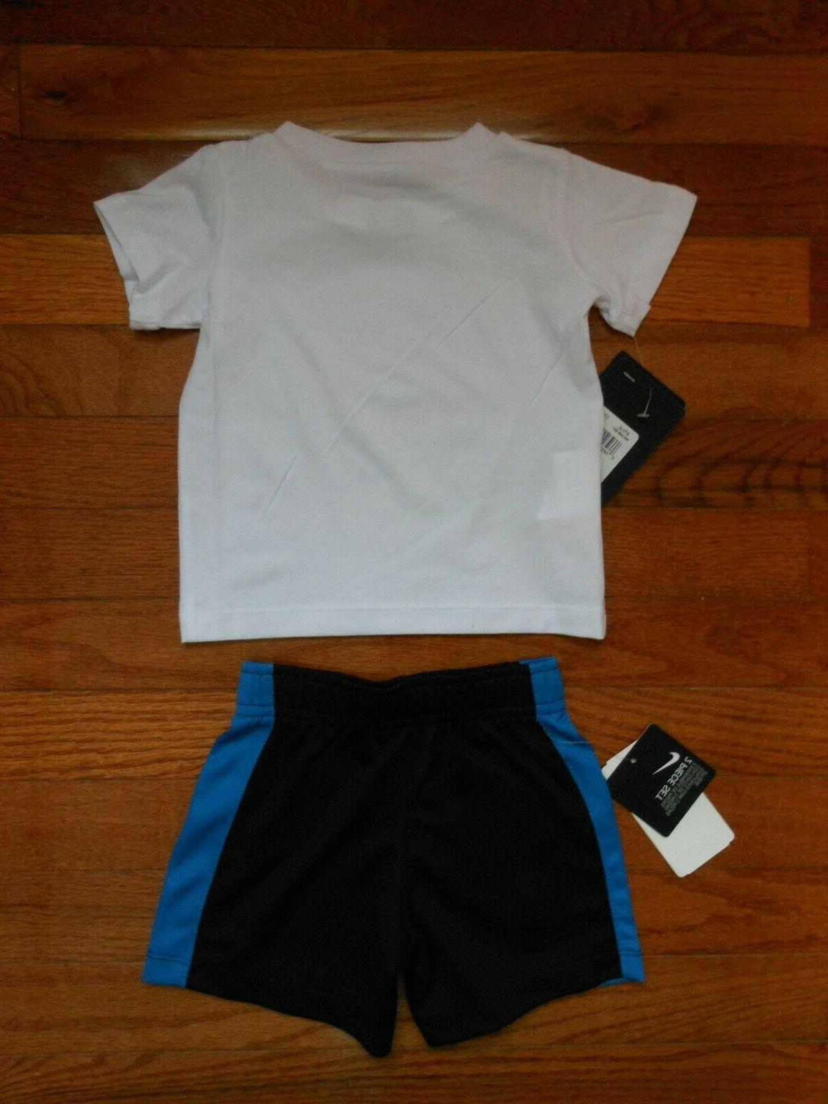 NWT Nike black short outfit size