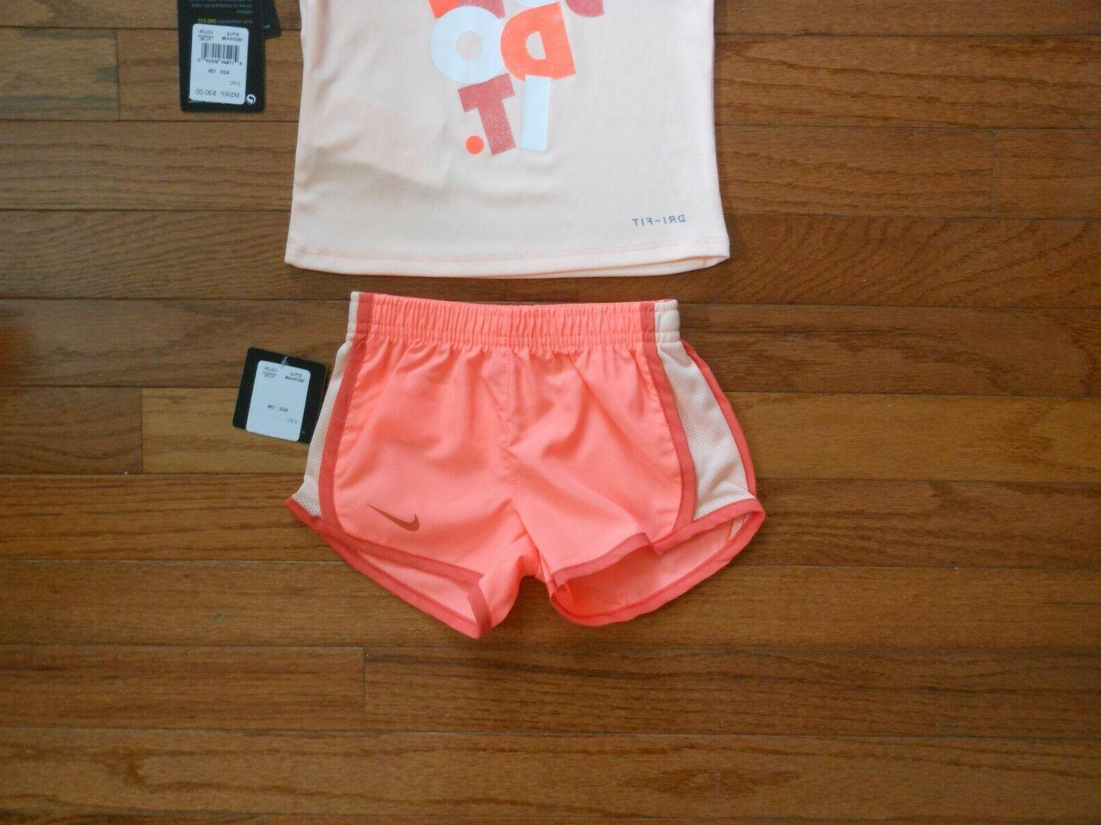 NWT Nike Girls outfit &