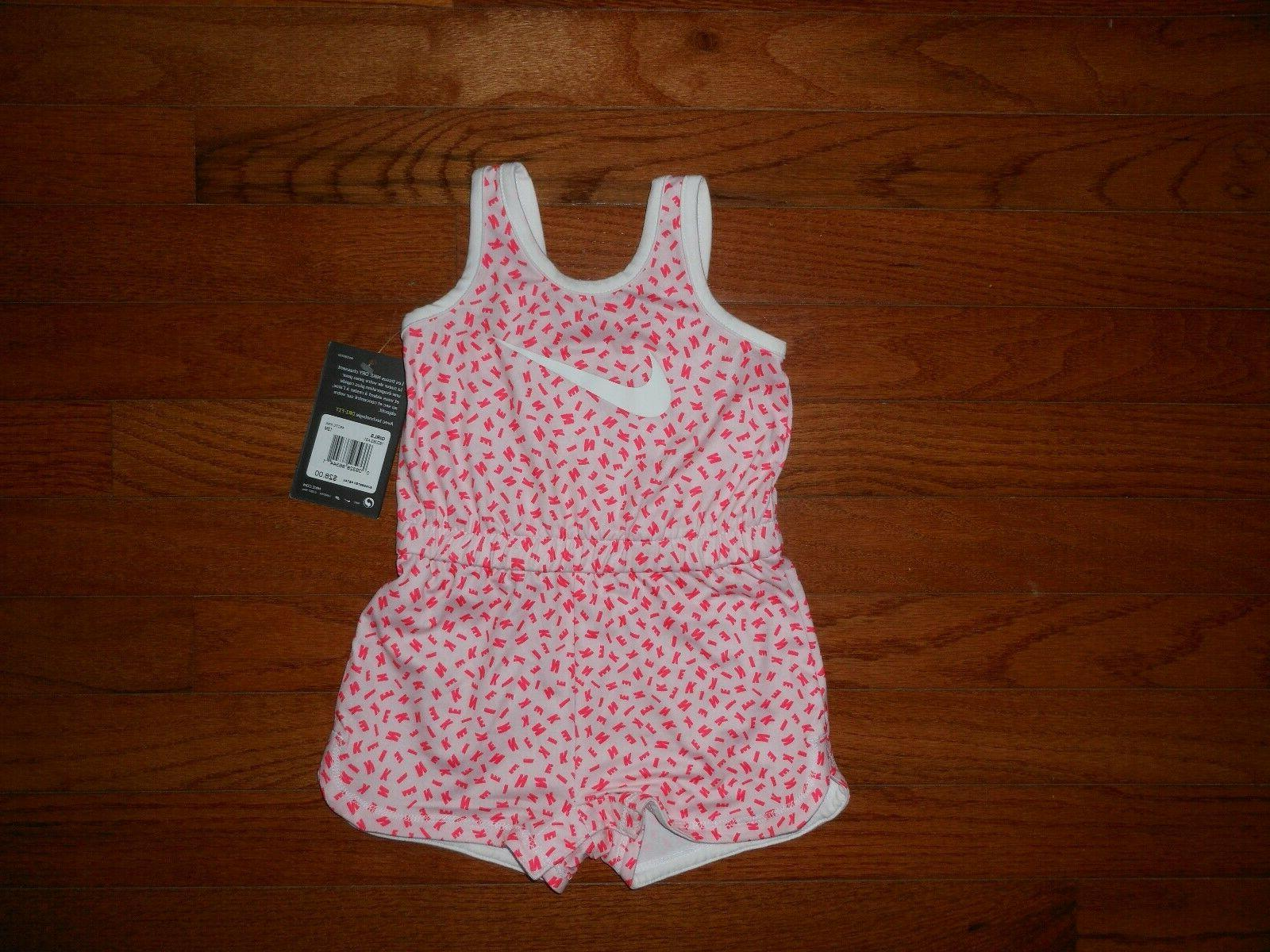 nwt baby girls arctic pink romper outfit