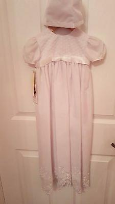 NWT Little Things Mean a Lot Christening Gown Size 12M Style