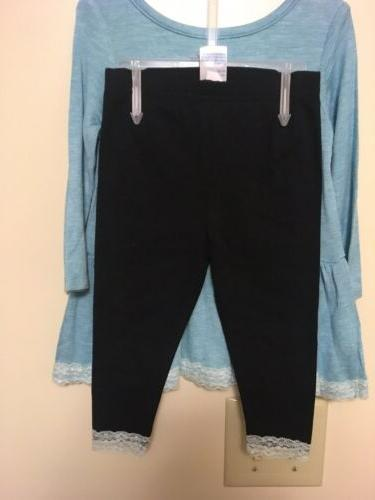 """NWT, Girl's Size 12 Months, Magic,"""" 2-Piece Pants"""