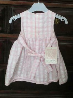 Dress/12 Mos/ROSEBUDS/PINK/Dressy/GORGEOUS/NEW!