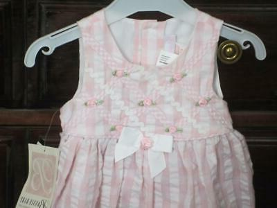 nwt infant girls dress 12 mos rosebuds