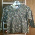 NWT Zutano long sleeved shirt~12-18 months~print~cotton top~
