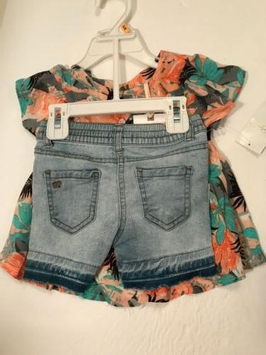NWT Flowers 2pc Outfit Sz Months $39.50
