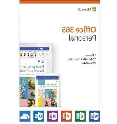 office 365 personal 12 month subscription 1