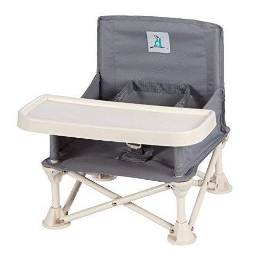 hiccapop Seat Tray Baby | Portable Camping, | to Kitchen Chairs - Go-Anywhere High Chair