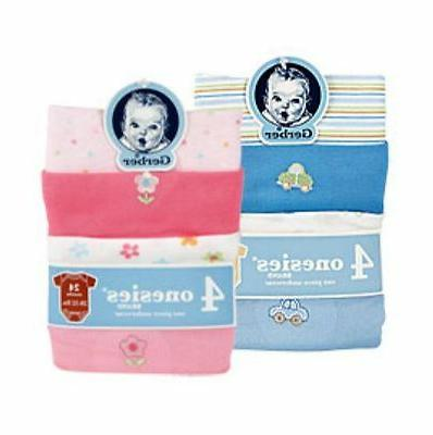 onesies variety 4 pack boy and girl
