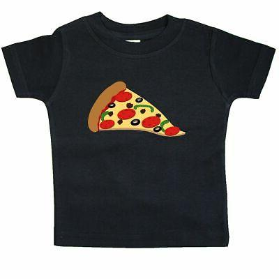 Inktastic Pizza Slice Baby T-Shirt Pepperoni Food Snack Funn