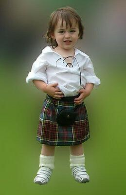 scottish baby kilt outfit 12 24 month
