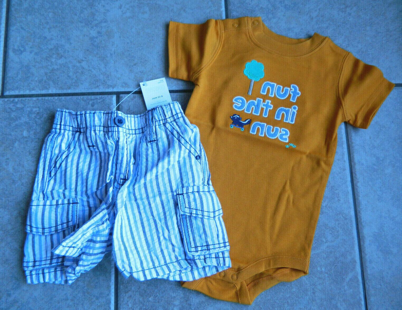 size 6 12 months outfit little skunk