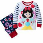 Disney Store Snow White Pajamas Baby Girls Size 0 3 6 9 12 1