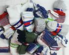 Mixed Lot 27 Pairs Baby Boy Socks Sizes 0-6 6-12 and 12-24 M