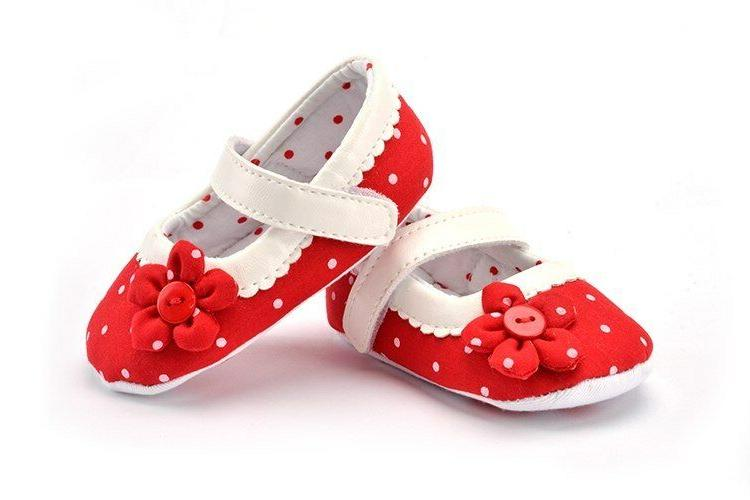 ENHANCE HER FABRIC BABY SHOES WALKERS 0-6, 6-12, 12-18 MONTHS