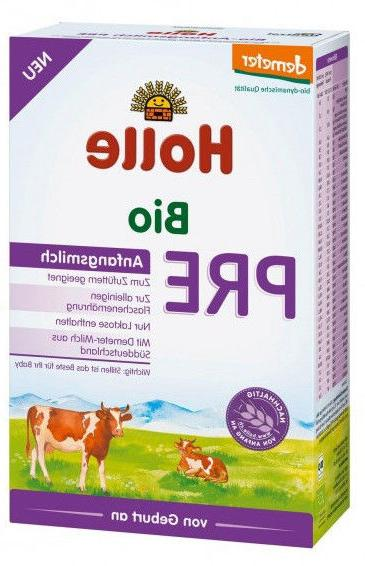 Holle Stage Pre Organic Baby Formula, 0-6 months, 400g 12/20