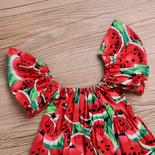 Summer Infant Baby Red Romper Jumpsuit Outfits