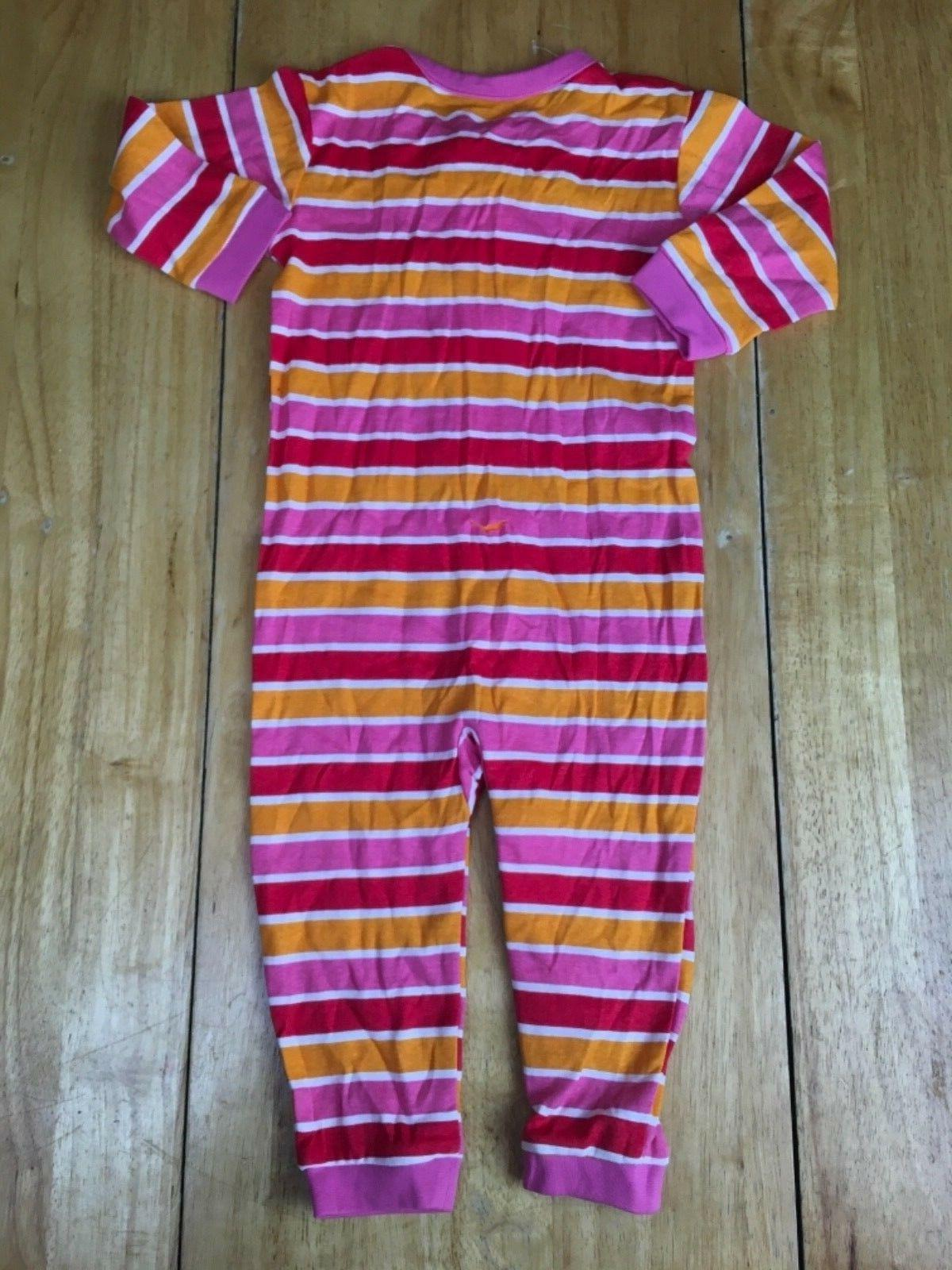 The Zipup Piece Sleepwear Pajamas Size