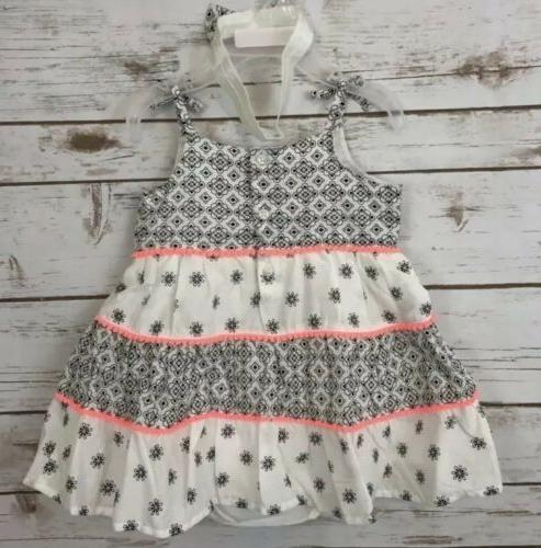 THE Infant Baby Sz 9-12 Months Floral NWT