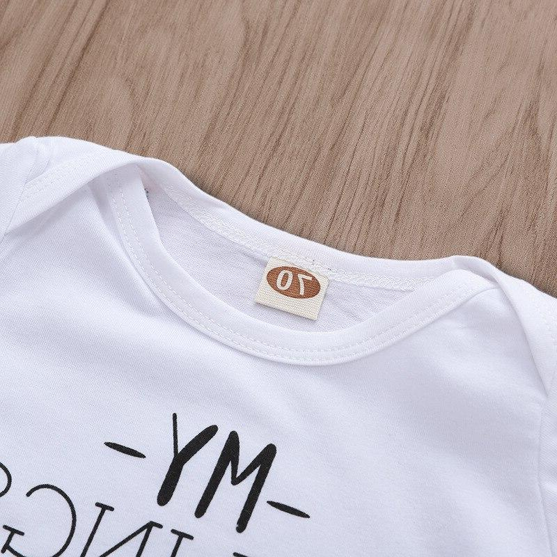 Tiny Baby Bodysuit Newborn Have Letter <font><b>Outfits</b></font>