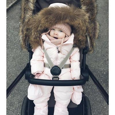 Toddler Winter Hooded Jumpsuit AE