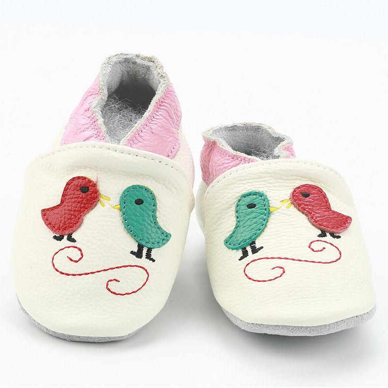 Toddler Baby Walkers Shoes Leather Boys