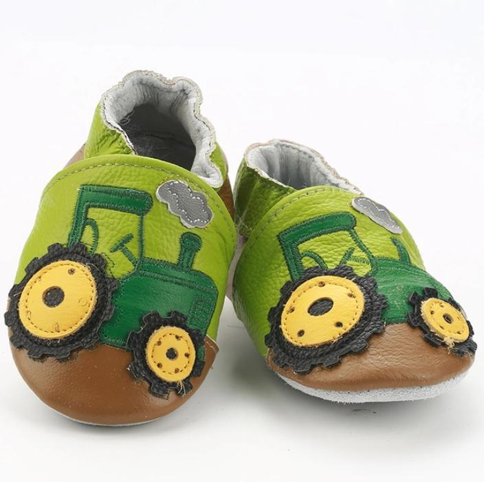 Toddler Walkers Shoes Genuine Leather Boys Newborn
