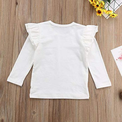 Mubineo Toddler Girl Basic Cotton T Shirts Tops Tee Clothes Months)