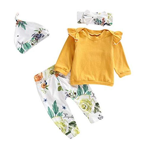 toddler baby girls fall outfit long sleeve