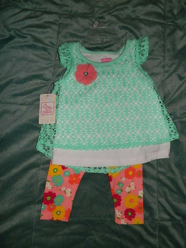 toddler baby girls outfit set 12 18