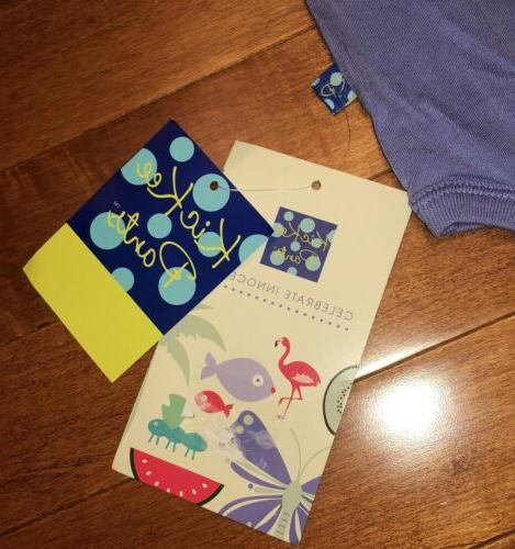 KicKee Pants Forget Me One Piece Bodysuit 12-18 Months
