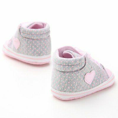Newborn Kids Baby Sole Shoes Toddler Sneaker