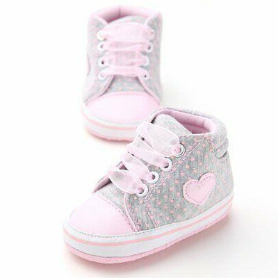 Newborn to Kids Sole Crib Shoes Toddler