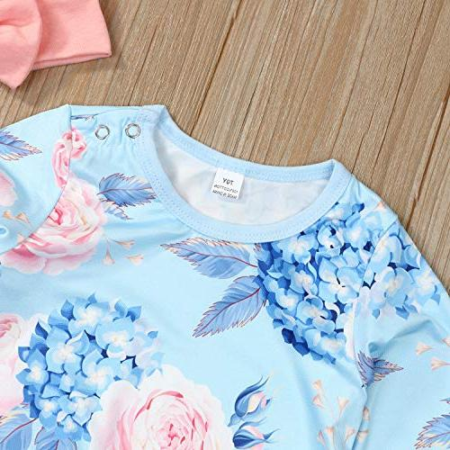 Younger Tree Toddler Newborn Baby Romper Full Flower Infant Fall Clothes