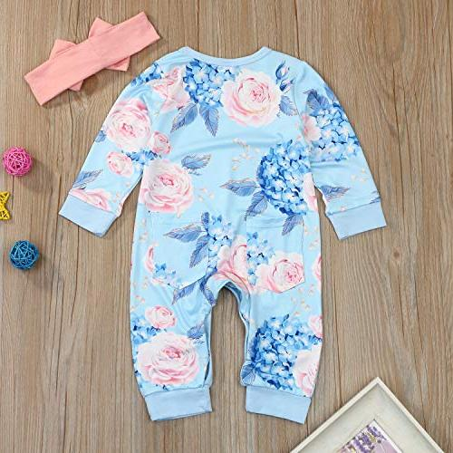 Baby Flower Fall Clothes