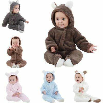 Newborn Infant Romper Baby Bodysuit Outfits