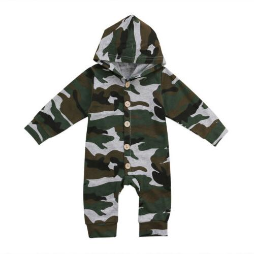 US Camouflage Jumpsuit Playsuit Outfit res