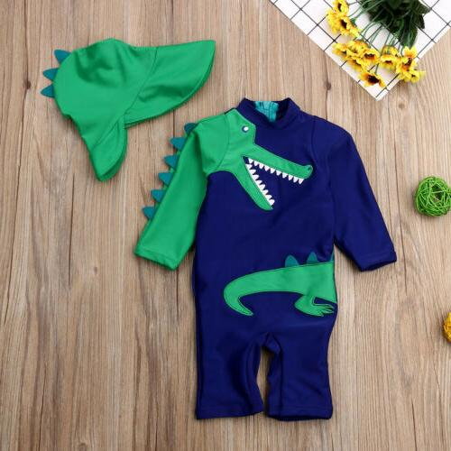 US Kids Summer Swimsuit Swimming Clothes