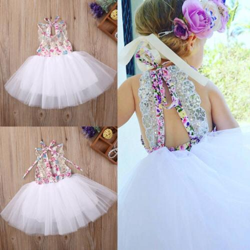 us baby kids girls party dresses tulle