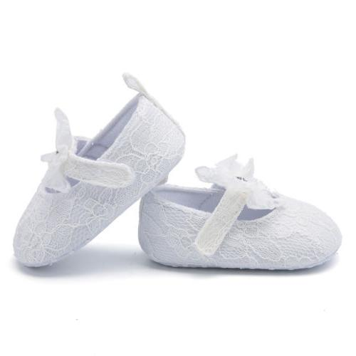 US Infant Girl Shoes Sneaker Crib Lace For