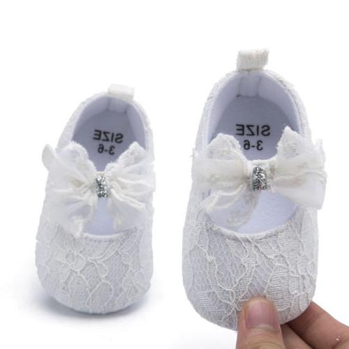 Shoes Casual Soft Sneaker Crib Lace For