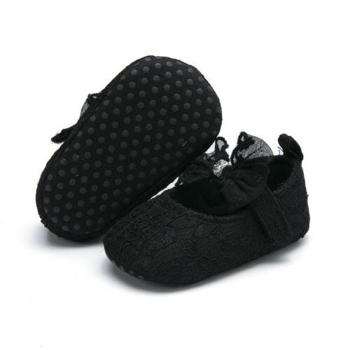 US Baby Girl Shoes Sneaker Crib For