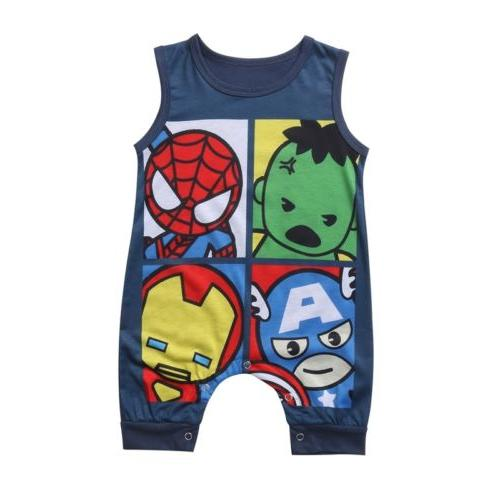 US Cartoon Bodysuit Superhero