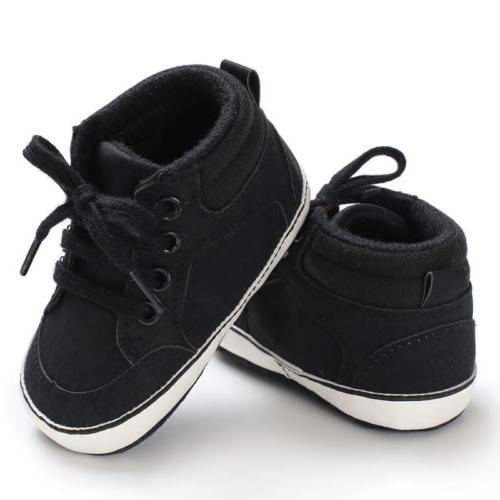 US Newborn Baby Girl Cute Cotton Shoes