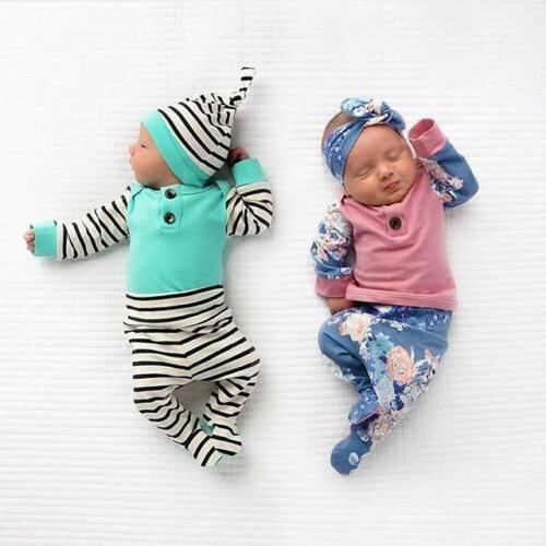US Baby Girl Long Pants Outfits