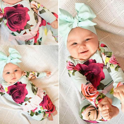 us newborn toddler kids baby girl outfit