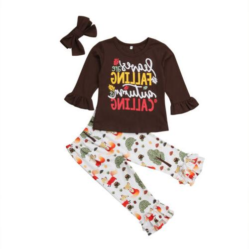Girls T-shirt Pants Leggings Sunsuit