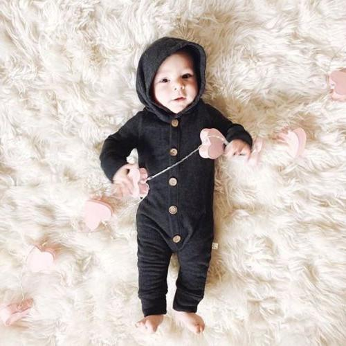 USStock Winter Boy Cotton Romper Jumpsuit